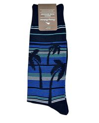 Tommy Bahama - Blue Palm Down Crew Socks for Men - Lyst