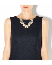 Hobbs | White Annie Pearl Necklace | Lyst