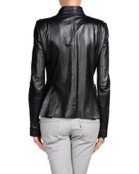 Balenciaga - Black Jacket - Lyst