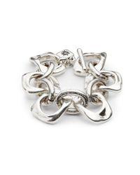 Uno De 50 Metallic You're Mine Bracelet