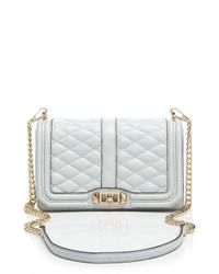 Rebecca Minkoff Gray Crossbody - Quilted Love