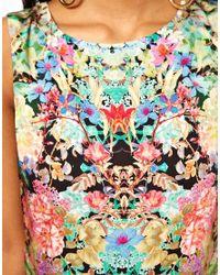 ASOS - Multicolor Maxi Dress in Dark Based Floral - Lyst
