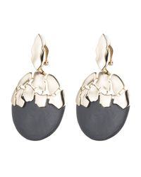 Alexis Bittar - Metallic Shattered Sphere Dangling Clip Earring You Might Also Like - Lyst