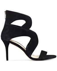 Marc Fisher | Black Brittany Dress Sandals | Lyst
