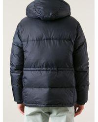 Paul Smith Blue Padded Jacket for men