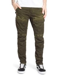G-Star RAW Green 'air Defence' Slim Cargo Pants for men
