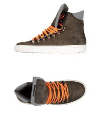 DSquared² | Brown High-tops & Trainers for Men | Lyst