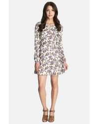 1.STATE - Multicolor Floral Print A-line Dress - Lyst
