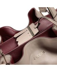 Tod's | Natural Handbag | Lyst