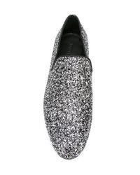 Jimmy Choo | Metallic 'sloane' Slippers for Men | Lyst