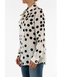 Boutique Moschino   Black Long Sleeve Shirt   Lyst