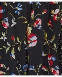 Equipment Black Hadley Floral Silk Trousers