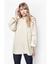 French Connection | Natural Verdi Knitted Jumper | Lyst