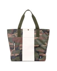 Herschel Supply Co. - Green 'alexander - Studio Collection' Water-resistant Coated Canvas Tote Bag for Men - Lyst