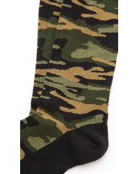 Paul Smith Natural Ps Camo Socks for men