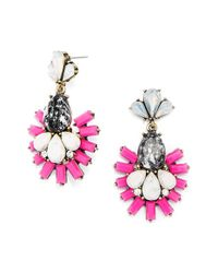 BaubleBar | Pink 'organic Wharton' Drop Earrings | Lyst