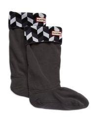 Hunter | Gray Boot Socks | Lyst