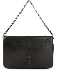 Tory Burch Black 'thea' Crossbody Bag