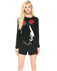 Moschino Black Cheap and Chic Sweater
