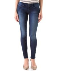 J Brand | Blue 910 Low Rise Ankle Skinny Jeans | Lyst