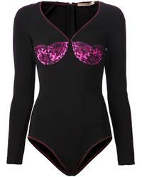 Christopher Kane | Black Lace Bodysuit | Lyst