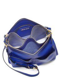 Marni - Blue Bandolier Crossbody Bag - Lyst