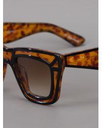 Ksubi - Brown Tortoiseshell Sunglasses - Lyst