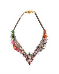 Shourouk | Orange Tabatha Necklace | Lyst