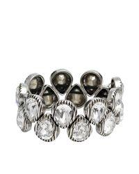 Philippe Audibert | Metallic Silver Drop Bracelet | Lyst