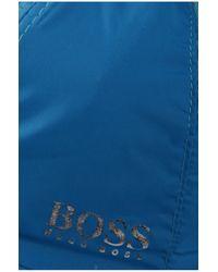 BOSS Green - Blue 'crit' | Nylon Cap With Mesh Vents for Men - Lyst