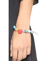 Venessa Arizaga | Cuppycakes Bracelet - Blue Multi | Lyst