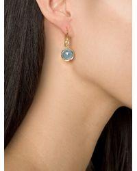 Irene Neuwirth | Blue 18kt Gold Aquamarine Drop Earrings | Lyst