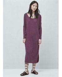 Mango | Purple Modal Dress | Lyst