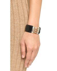 Alexis Bittar - Corset Hinge Bracelet - Black - Lyst