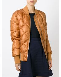 Sonia by Sonia Rykiel - Natural Quilted Cinnamon Jacket - Lyst