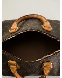 Louis Vuitton Brown Speedy 25 Monogrammed Bag