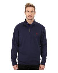 Calvin Klein - Blue Liquid Cotton End On End Tonal Plaid Woven Shirt for Men - Lyst