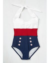 Fables By Barrie - Black Merry Mariner One-piece Swimsuit - Lyst