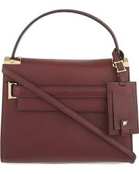Valentino | Purple My Rockstud Small Leather Over The Shoulder Handbag - For Women | Lyst
