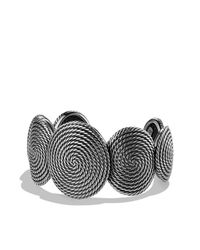 David Yurman | Metallic Cable Coil Cuff | Lyst