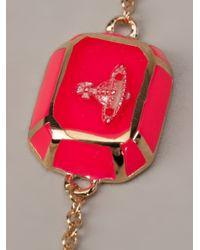 Vivienne Westwood - Red Milton Bracelet - Lyst