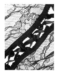 Kiki de Montparnasse - Black Ingenue Corselette Lace Briefs - Lyst