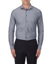 Skopes Gray Contemporary Collection Formal Shirt for men