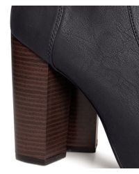 H&M | Black Platform Boots | Lyst