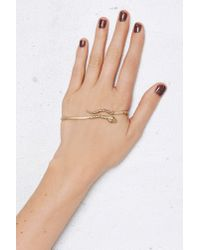 Jenny Bird | Metallic Cold Blooded Gold-plated Palm Cuff | Lyst