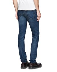 Mauro Grifoni - Blue Taper Leg Jeans for Men - Lyst