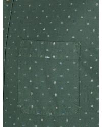 Racing Green Green Crane Multi Dobby Shirt for men