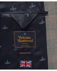 Vivienne Westwood Gray Mid Grey Prince Of Wales Check Suit for men