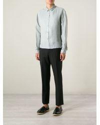 Haider Ackermann - Green Patterned Shirt for Men - Lyst