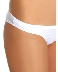 OndadeMar - White Classic Bikini Briefs - Lyst